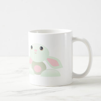 Easter bunny - Little Green Baby Bunny Classic White Coffee Mug