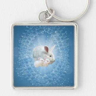 Easter Bunny Magic Keychain