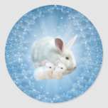 Easter Bunny Magic Sticker
