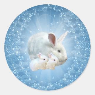 Easter Bunny Magic Sticker