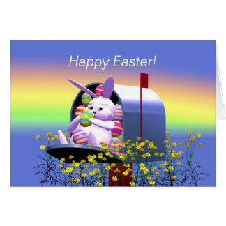 Easter Bunny Mail Card