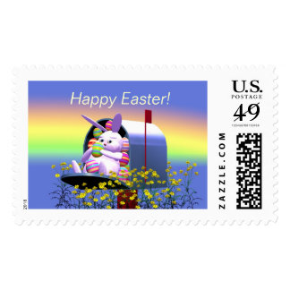 Easter Bunny Mail Postage