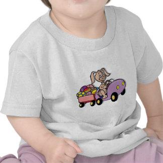 Easter Bunny Modern Deliveries T-shirt
