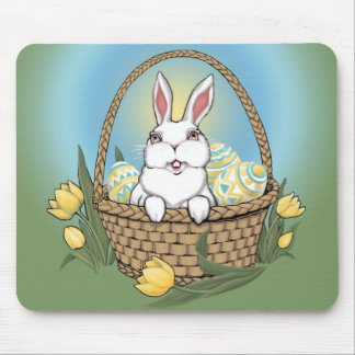 Easter Bunny Mousepad Festive Easter Decorations