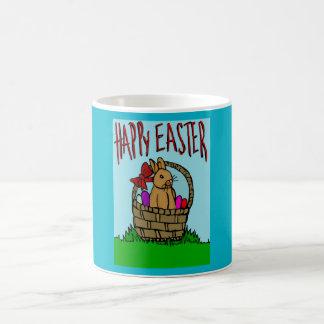 Easter bunny basic white mug