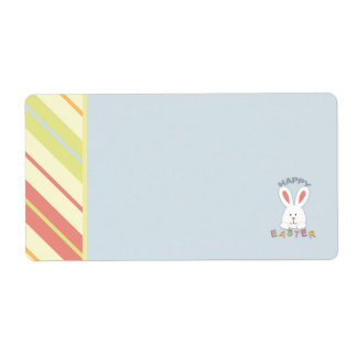 Easter Bunny Name Tag Labels