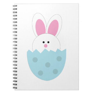 Easter Bunny Spiral Notebooks