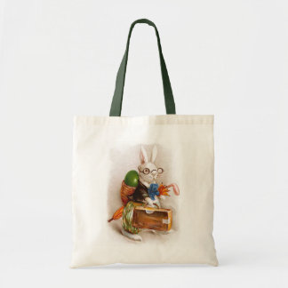 Easter Bunny on Tour Tote Bags