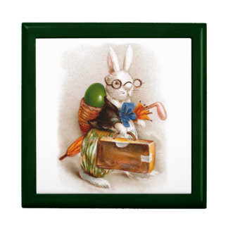 Easter Bunny on Tour Jewelry Boxes