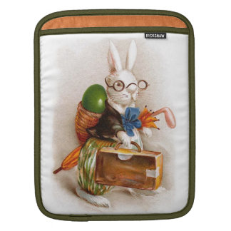 Easter Bunny on Tour iPad Sleeves