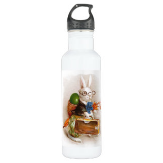 Easter Bunny on Tour 24oz Water Bottle