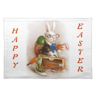 Easter Bunny on Tour Place Mats