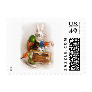 Easter Bunny on Tour Stamps