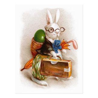 Easter Bunny on Tour Postcard