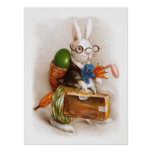 Easter Bunny on Tour Print