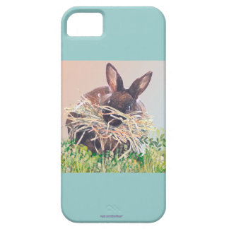 Easter Bunny or Nest Making Rabbit - Happy Easter iPhone 5 Cover