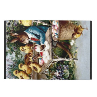 Easter Bunny Painting Egg Chick Cover For iPad Air