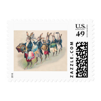 Easter Bunny Parade Band Egg Postage
