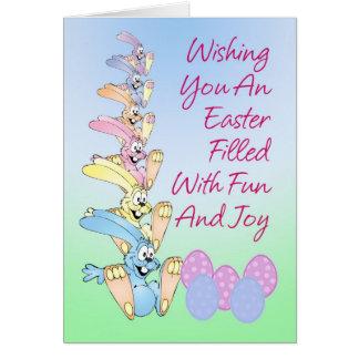 Easter Bunny Parade Card