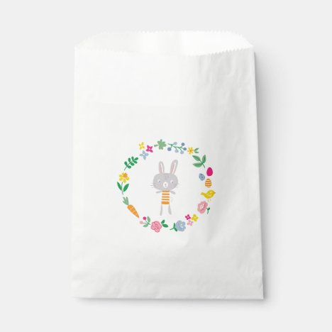 Easter Bunny party favor bag