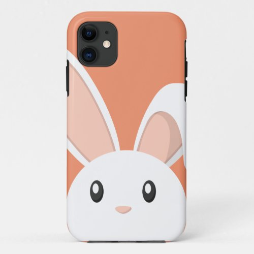 Easter Bunny peeping Phone Case