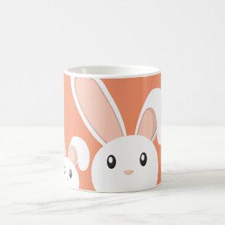 Easter Bunny peeping with baby Coffee Mug