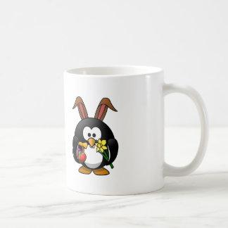 Easter Bunny Penguin Mugs