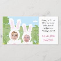 Easter Bunny - Photo Card