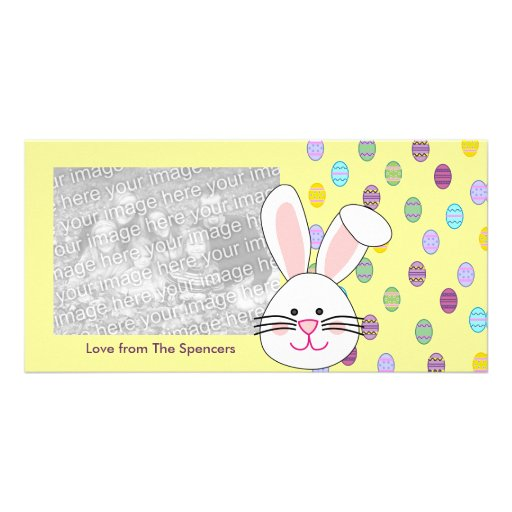 Easter Bunny Photo Cards