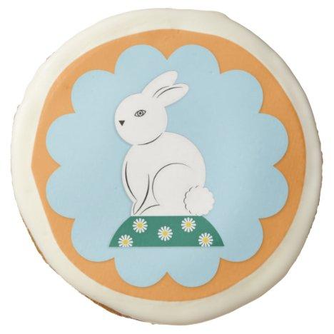 Easter Bunny Photo Cookies