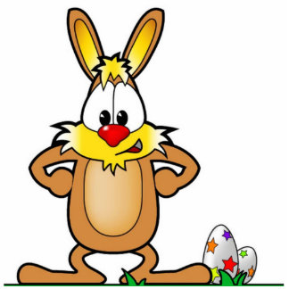 EASTER BUNNY PHOTO CUT OUT