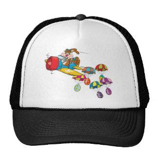 Easter bunny Plane Trucker Hat
