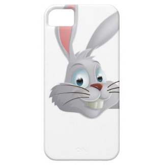 Easter bunny pointing down iPhone 5 cases