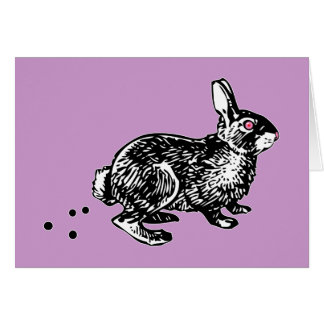 Easter Bunny Poo Card
