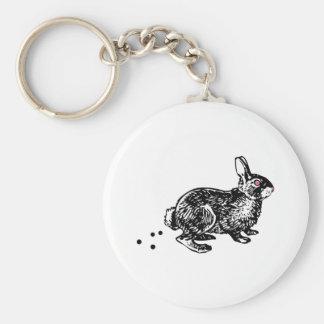 Easter Bunny Poo Keychain