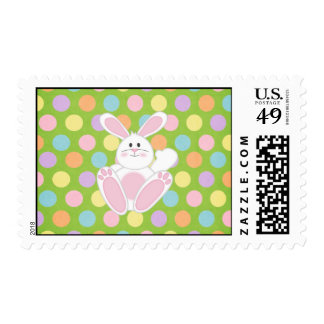 Easter Bunny Postage Stamps