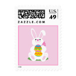 Easter Bunny Postage Stamp