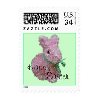 Easter Bunny Postage Stamp- customize
