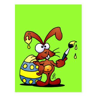 Easter Bunny Postcard