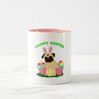 Easter Bunny Pug Mugs