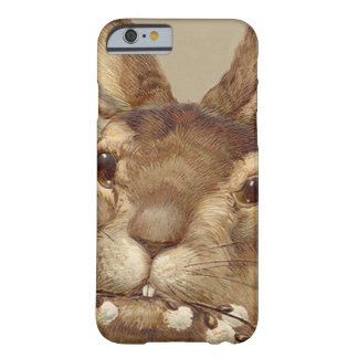 Easter Bunny Pussy Willow Floral Barely There iPhone 6 Case