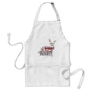Easter Bunny Rabbit Gift Adult Apron at Zazzle
