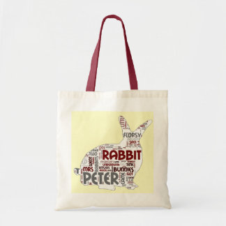 Easter Bunny Rabbit Gift Tote Bag