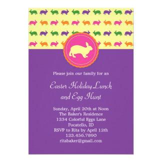 Easter Bunny Rabbit Invitation