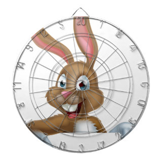 Easter Bunny Rabbit Pointing Down Dart Boards