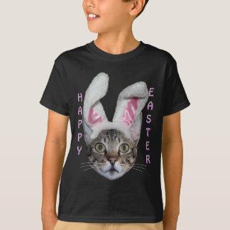 Easter Bunny Savannah Cat T-Shirt