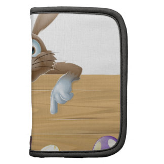 Easter bunny sign folio planners