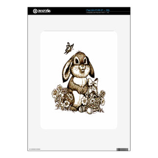 Easter Bunny Skin For The iPad