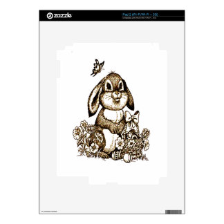 Easter Bunny Skin For The iPad 2