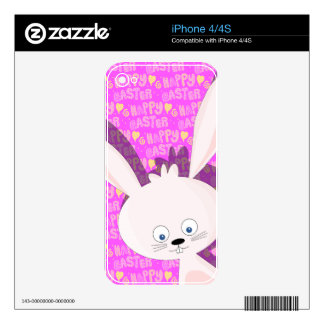 Easter bunny skin for the iPhone 4